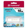 Transcend JetFlash 730 16GB, USB 3.0, Белый TS16GJF730