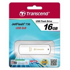Transcend JetFlash 730 16GB, USB 3.0, Белый TS16GJF730