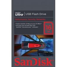 Sandisk CZ45 Ultra 16GB , USB 2.0, SDCZ45-016G-U46